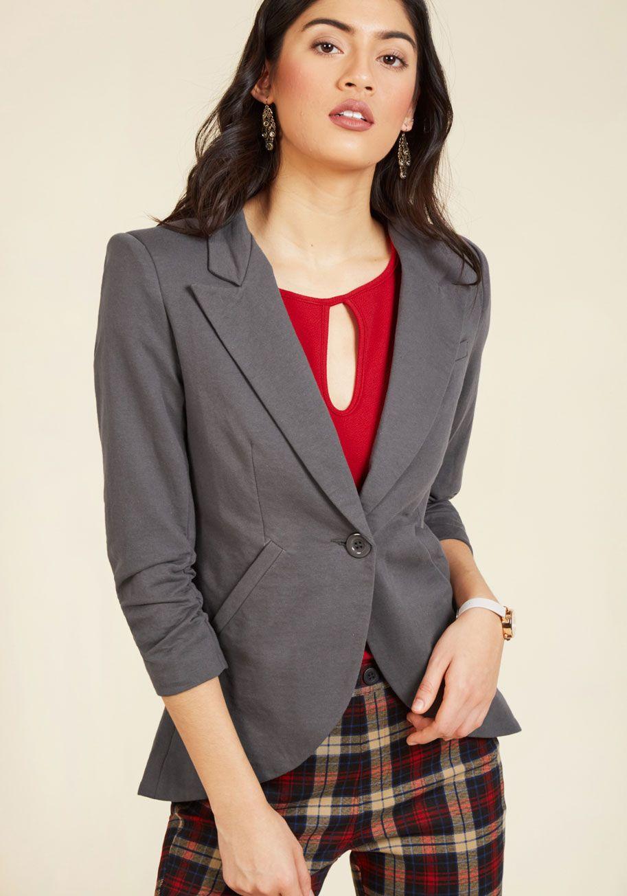 5d430ae84619 Fine and Sandy Blazer | Wish List | Blazer, Blazer buttons, Blazer vest
