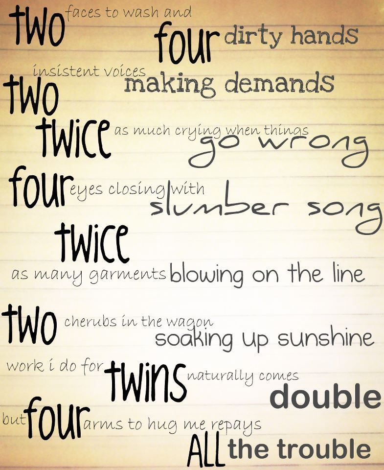Twin Baby Girl Quotes: Twins, Twin Baby Boys, Twin Poems