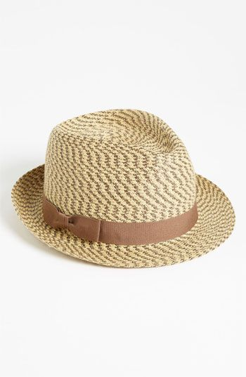 Nordstrom Two Tone Fedora available at  Nordstrom  482014c4937f