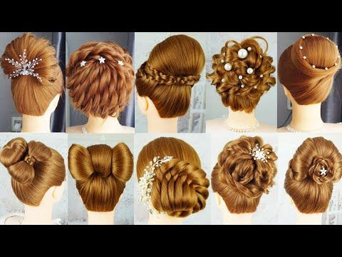 10 Beautyful Hairstyle With Clutcher Hairstyles Easy Hairstyle With Hair Tools French Hairstyle Youtube In 2020 Easy Hairstyles French Hair Hair Styles