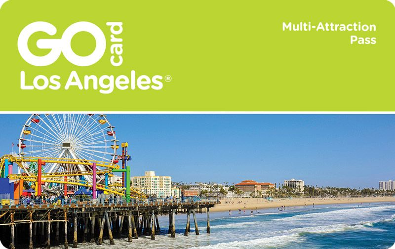 Go Los Angeles Card Attractions Pass Angeles Los Angeles Touriste