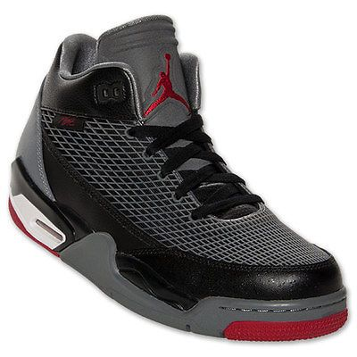 new style e0640 9d35d Nike Men s Jordan Flight Club 80s Black Gym Red Cool Grey Size 8