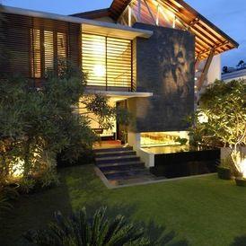 tropical modern tropical house