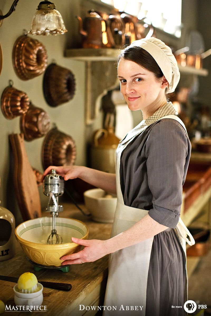 At Downton Abbey Every Dish Has A Bit Of Heart In It Watch On Masterpiece Pbs For The Love