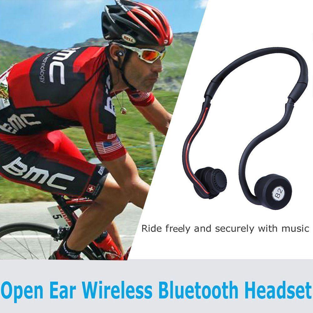Open Ear Wireless Bone Conduction Headphones Liwithpro Bluetooth 4 Headphone Music Dj Fitness Sports Bluetooth Headphones Earphone Wireless