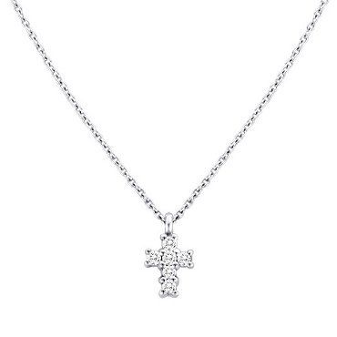14K White Gold Necklace Meira T vU8e6UaN