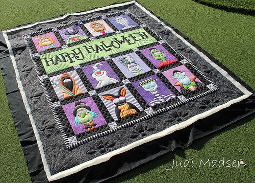 halloween machine quilting designs