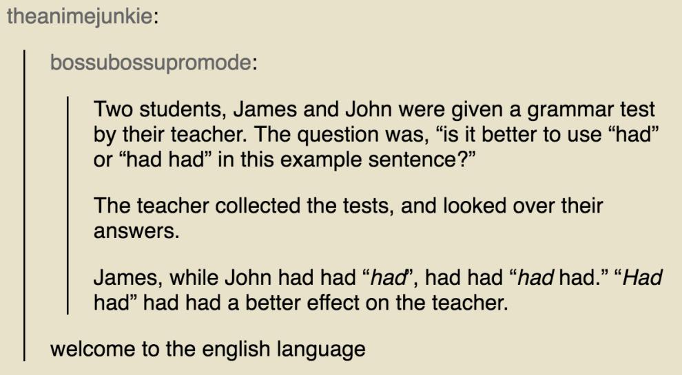 19 Times The English Language Made Zero Sense Tumblr Funny English Language British Memes