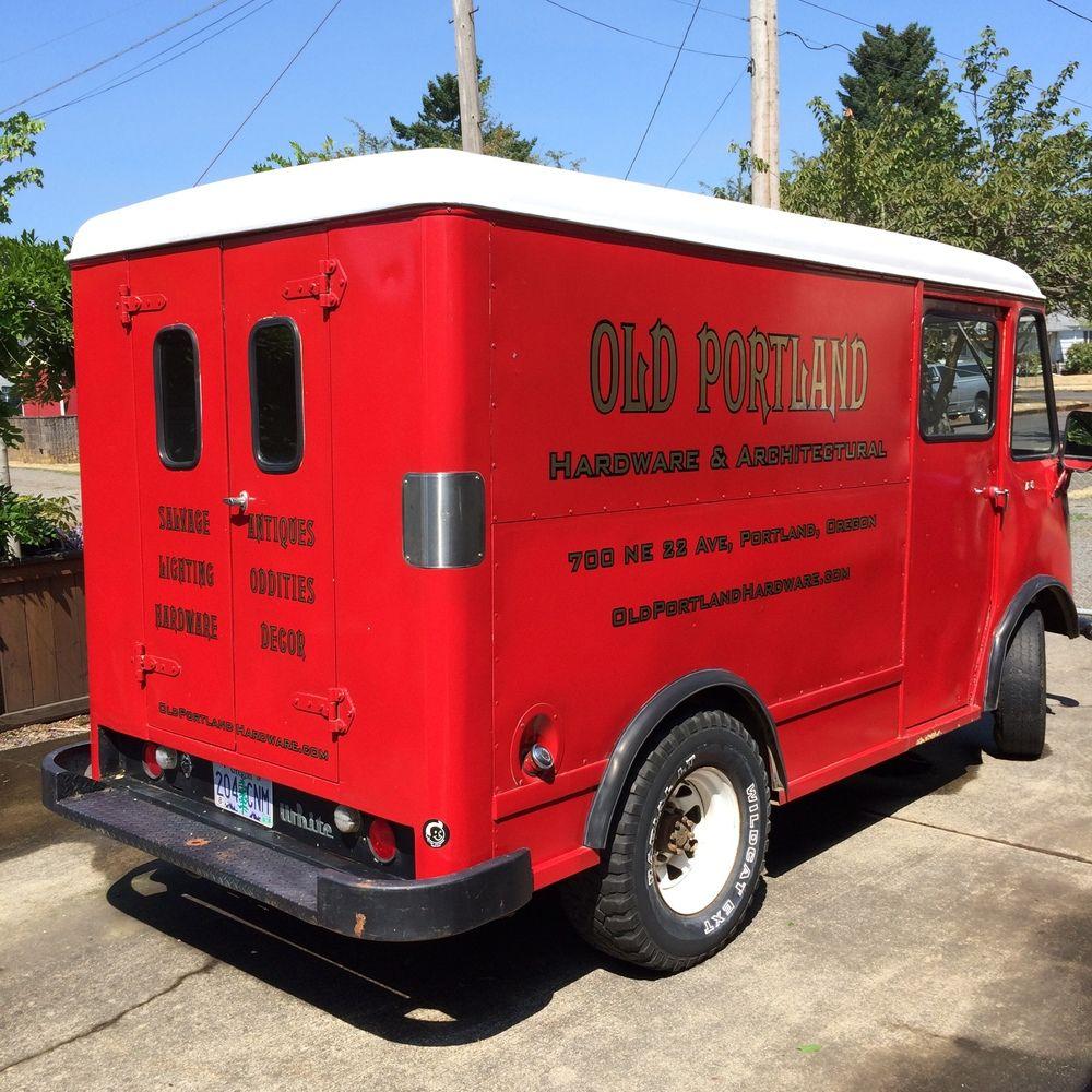 PDQ, PDQ step van,  step van, vintage, bread truck, milk van, delivery van, vintage step van, ice cream truck, White Motor Co.