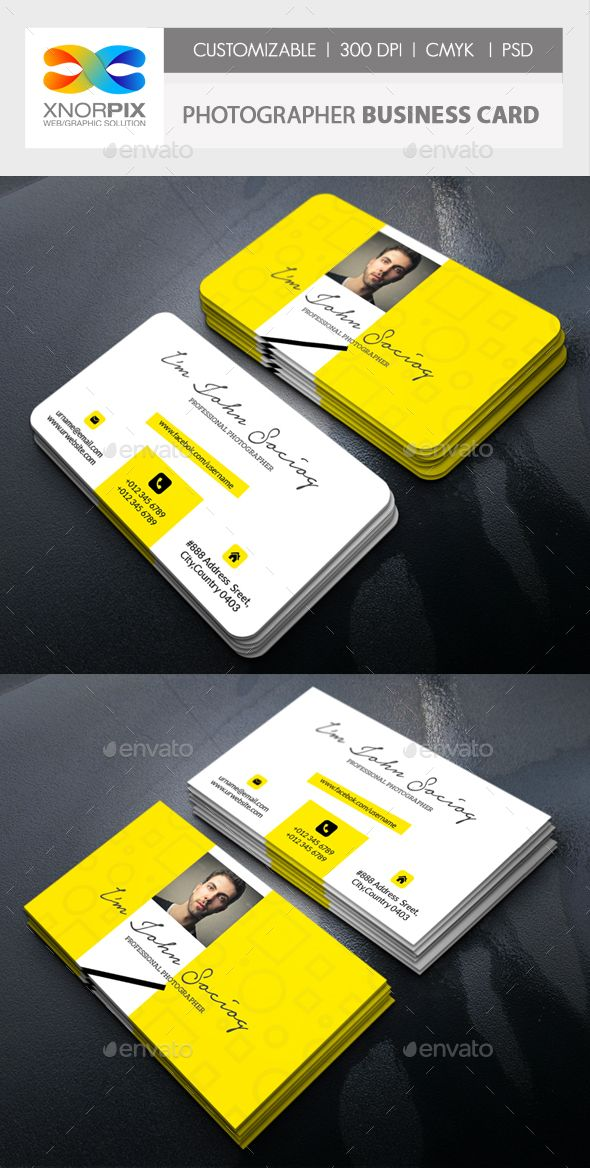 Photographer business card photographer business cards business photographer business card photoshop psd image lens available here httpsgraphicriveritemphotographer business card19253131refpxcr reheart Image collections