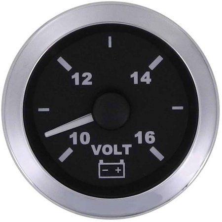 SeaStar Solutions Matrix Voltmeter, Black