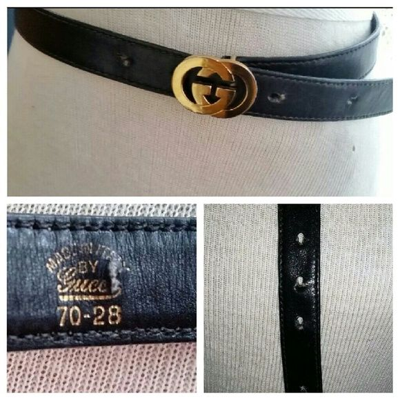 f09e526804d Vintage Women s Gucci Belt A VINTAGE 70 S GUCCI BELT. MADE IN ITALY WITH  OLD MARK ON BELT   NUMBERED. CLASSIC PREOWNED VINTAGE A FEW MARKS ON  HARDWARE AND ...