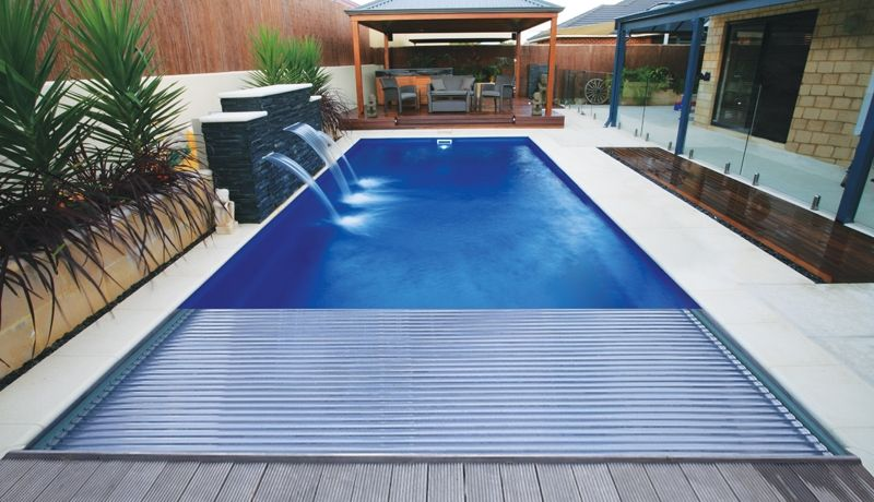 The Reflection With Cover Swimming Pools Fibreglass