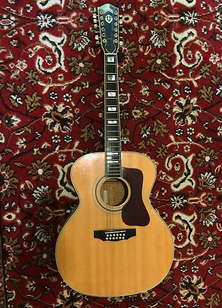 The 1976 78 Takamine F 395ms 12 String Was A Precise Replica Of The