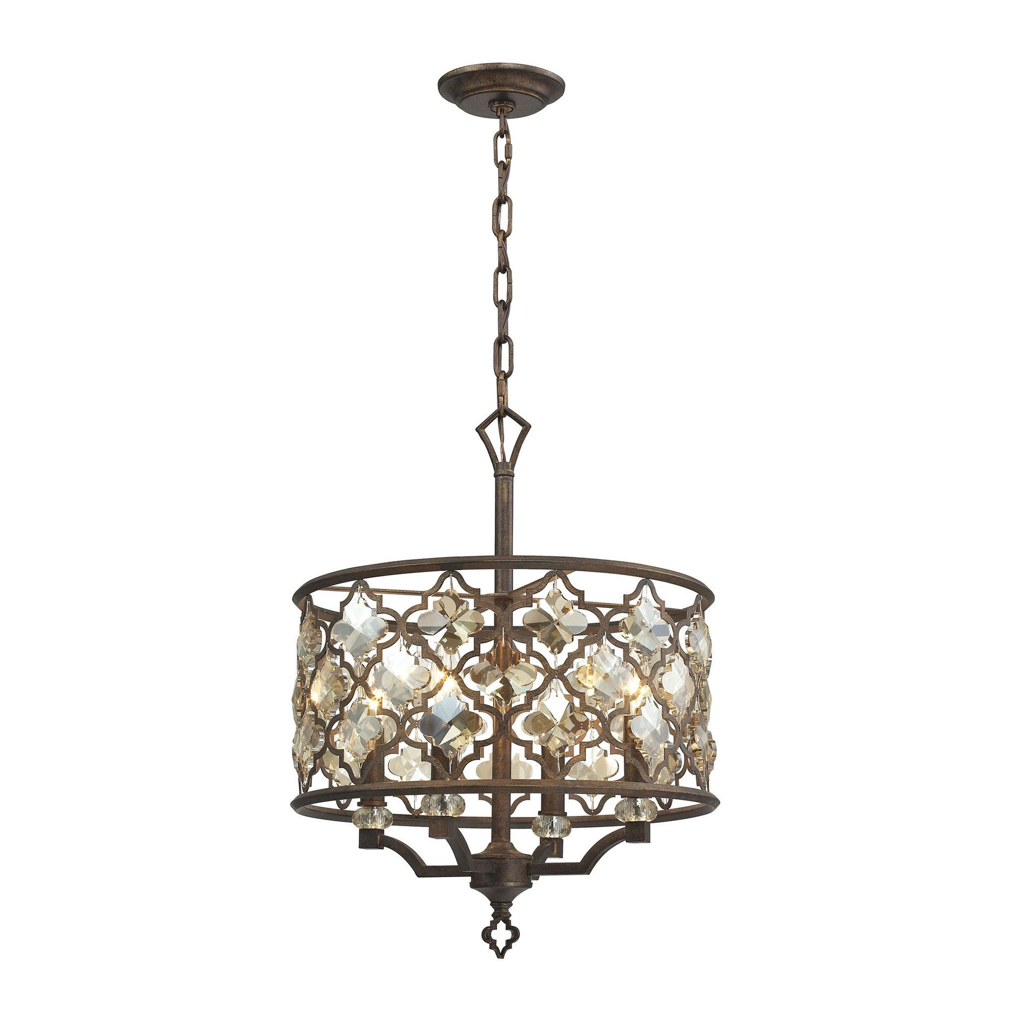 ELK Lighting  Armand Collection Weathered Bronze Finish
