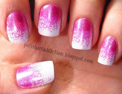 Polish Art Addiction: Metallic Pink Cloud