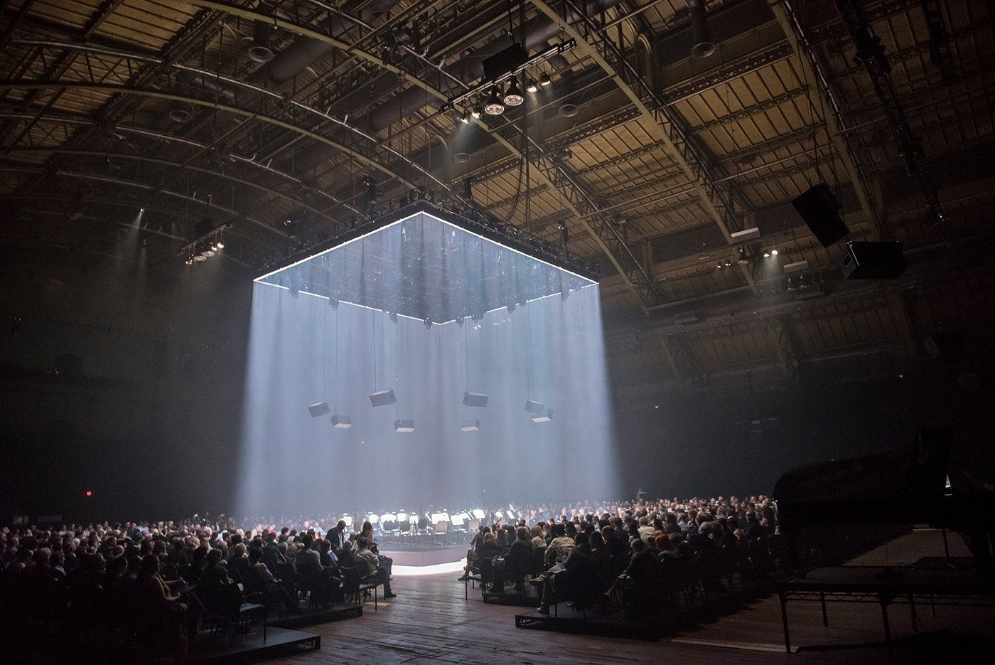 Image Result For Park Avenue Armory Concert Stage Design Stage Lighting Design Scenic Design Theatres