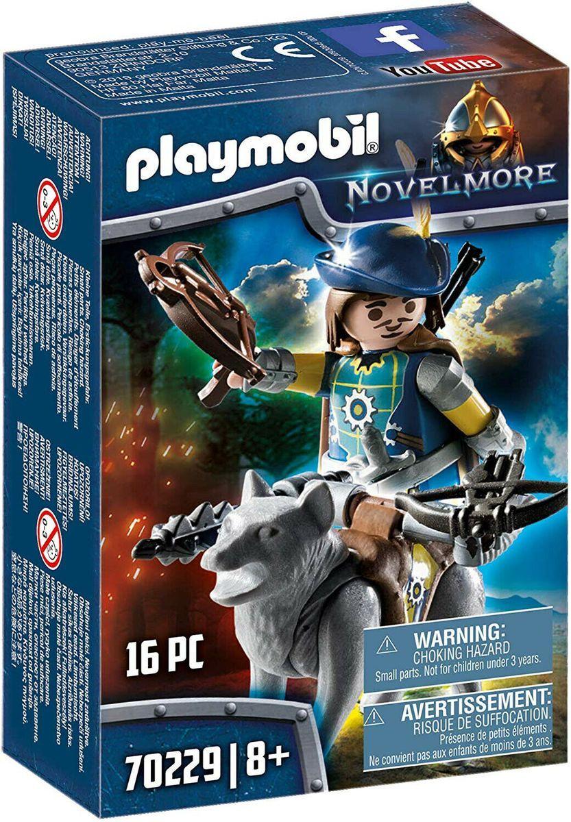 Neu Eingetroffen Playmobil Novelmore 70229 Armbrustschutze Mit Wolf Spielset Ritter 16 Teile Ecommerce Onlineshop Angebot Play Mobile Playmobil Loup