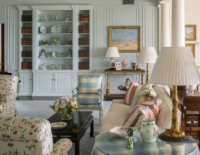 The Glam Pad: Leta Austin Foster Designs A 1930s Oceanfront Masterpiece