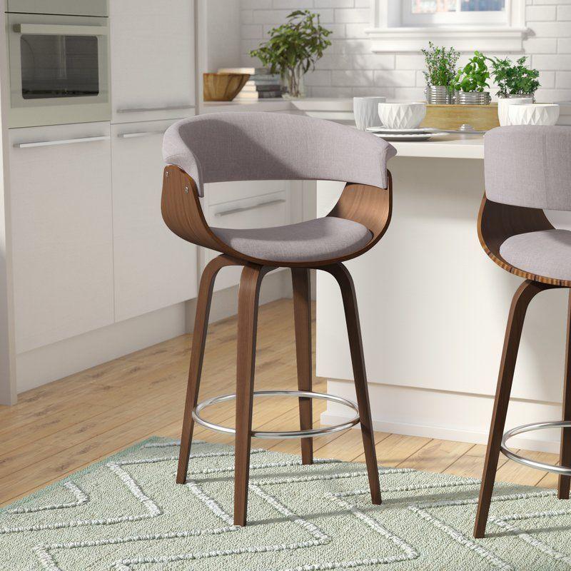 Awe Inspiring Bingen 26 Swivel Bar Stool Kitchen Remodel Inspo In 2019 Ibusinesslaw Wood Chair Design Ideas Ibusinesslaworg