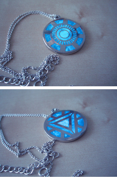Arc reactor necklace comic pinterest accesorios avengers y arc reactor necklace aloadofball Image collections