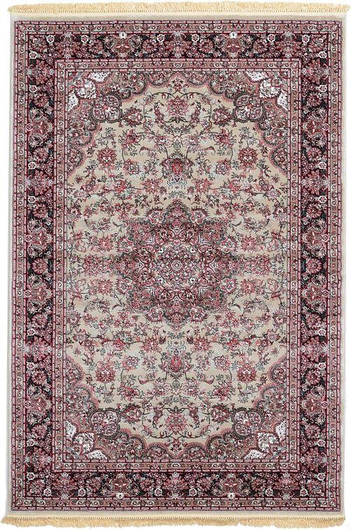 Gray Tabriz Design Area Rug