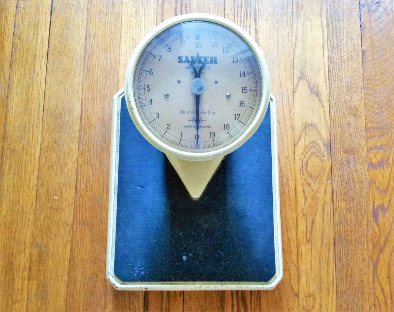 Black Bathroom Scales Vintage Salter Bathroom Scales 1950s Medical Scales Cast Iron