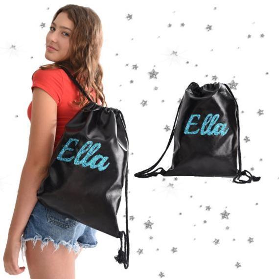 Personalized Drawstring Bag Custom Backpack Overnight Bag | Etsy in 2020 | Personalized drawstring, Personalize bag, Customized drawstring backpack