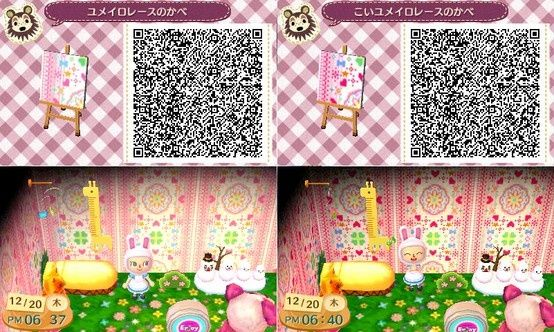 Animal Crossing Wallpaper Patterns Animal Crossing Qr Code Pretty