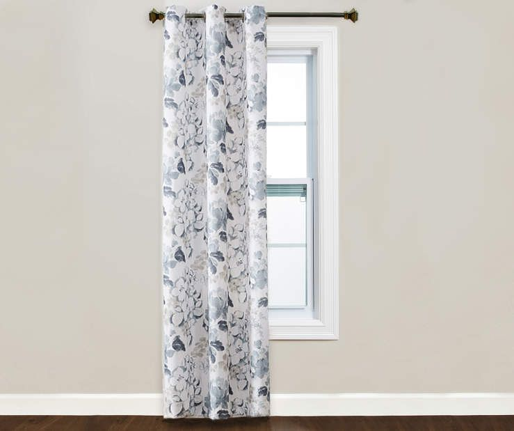 Living Colors Living Colors Patterned Montego Grommet Single Curtain Panel Big Lots In 2020 Panel Curtains Grommet Curtains Curtains