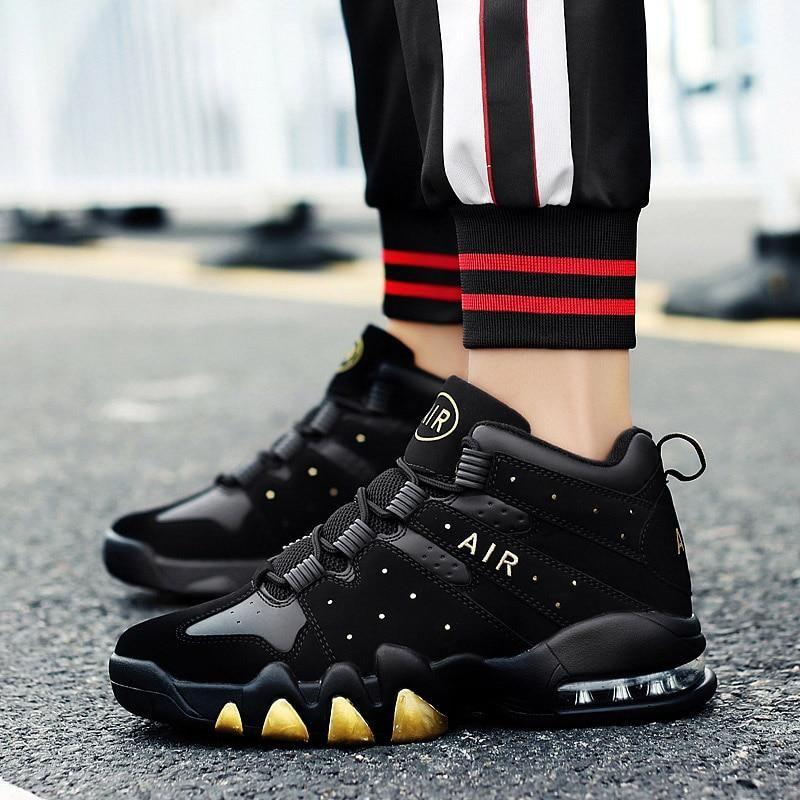 Basketball Shoes Men High-top Sports Cushioning Jordan Basketball ...