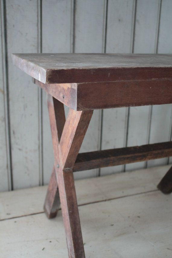 Antique Milking Stool by FarmhouseSupply on Etsy