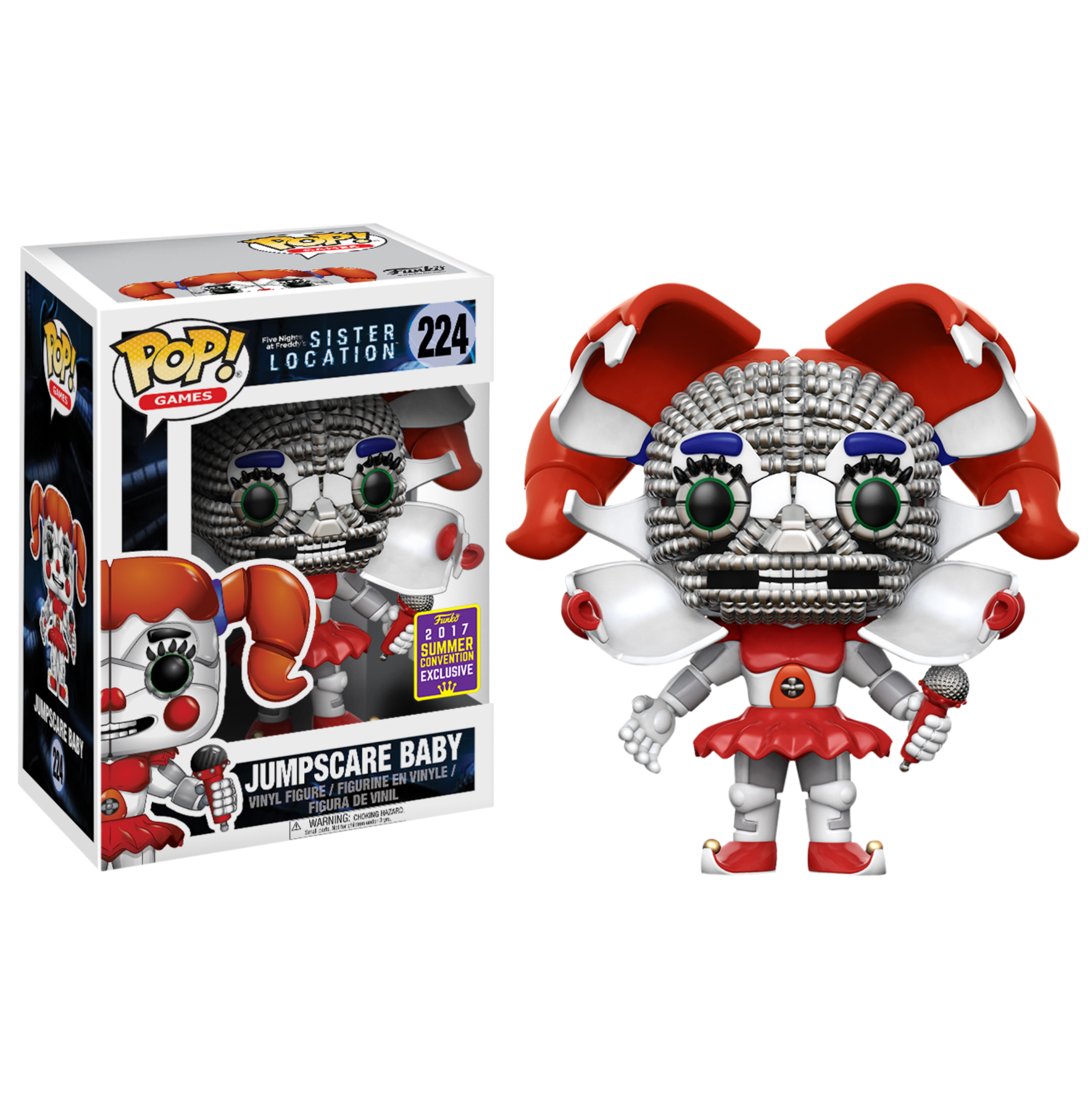 Photo of Five Nights at Freddy's: Sister Location – Jumpscare Baby Pop! Vinyl Figure (2017 Summer Convention Exclusive)