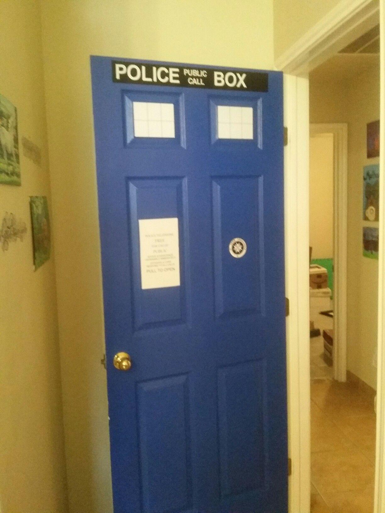 My Doctor Who Tardis door u2026 & My Doctor Who Tardis door u2026   Home ideas   Pinterest   Tardis door ...