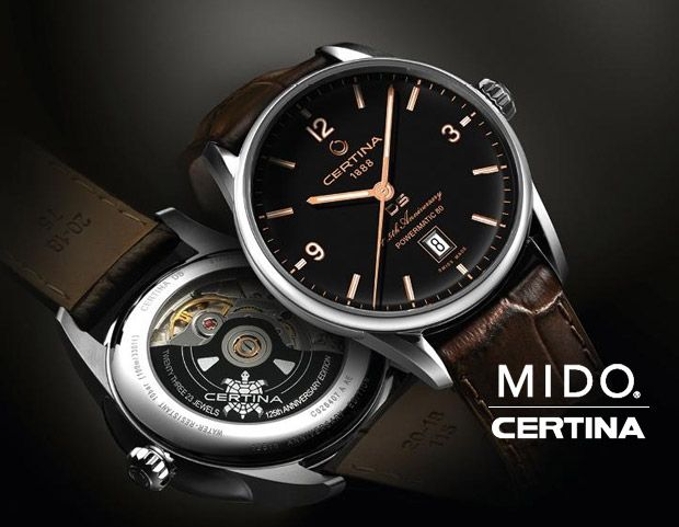 Certina Mido Style Luxury Prestige With Huge Discounts Exclusive For Ksa Shoppers Www Sukar Com Fashion Online Shop Rolex Watches Accessories