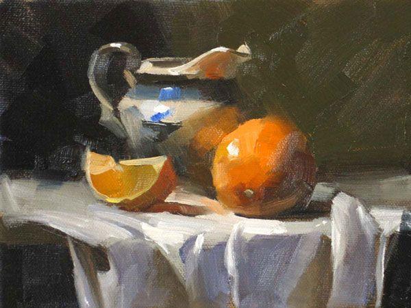 Qiang Huang Still Life Painting Still Life Oil Painting Still