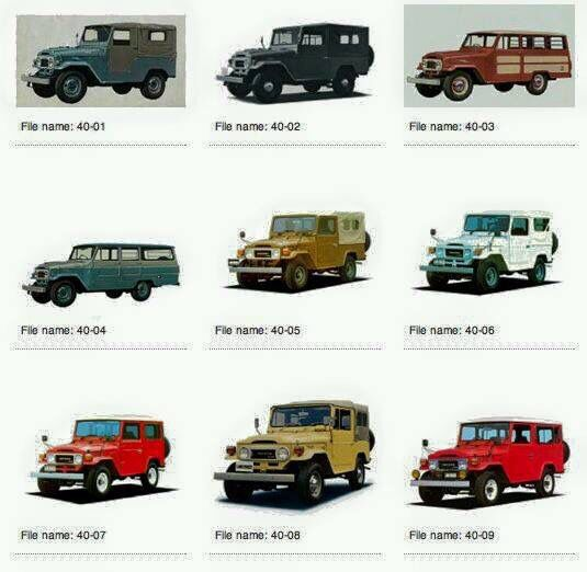 Name That Land Cruiser Toyota Land Cruiser Fj40 Landcruiser