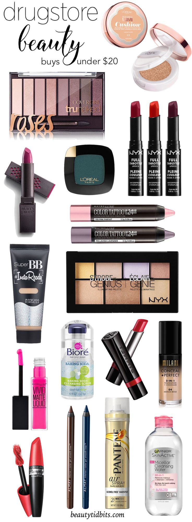 Drugstore Makeup Dupes: Cheap & Chic! 16 New Drugstore Beauty Products For 2016