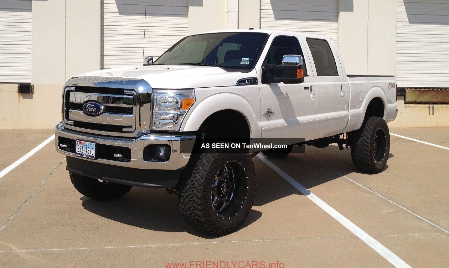 Awesome Ford F250 Lifted Blacked Out Car Images Hd White Ford