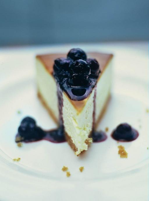 New York Vanilla Cheesecake Cheese Recipes Jamie Oliver