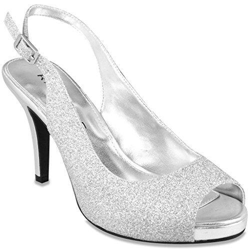 1cf5e083514 Rampage Fasher Women s Heel Silver 8 Rampage https   www.amazon.com