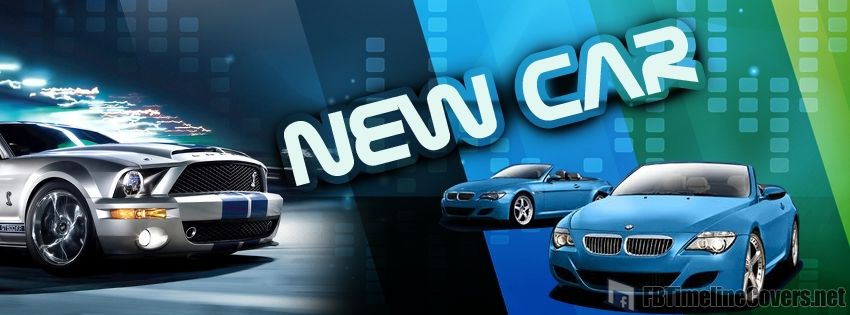 New Cars - FB Time Line Covers