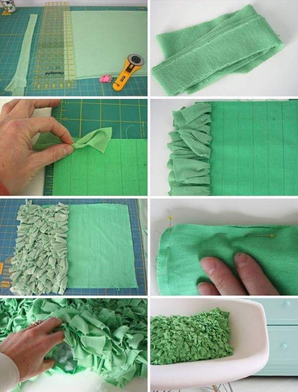 Пошив диванных подушек своими руками