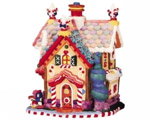 Sweet Tooth Cottage Gingerbread Quilt Sugar And Spice Christmas Villages