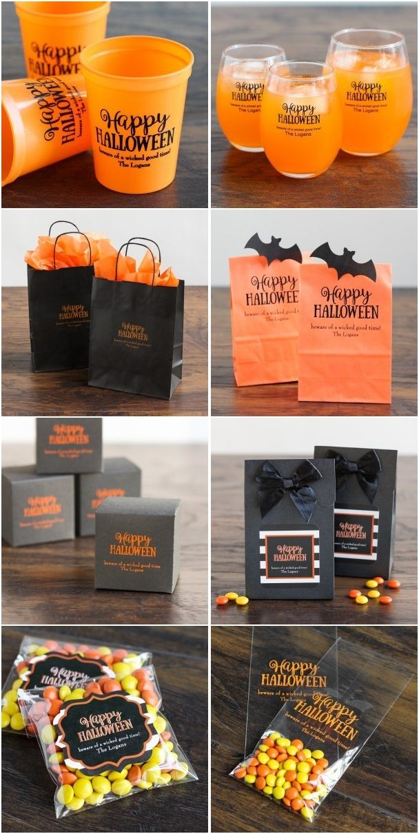 #ad Fall Halloween Wedding Ideas - Personalized Fall Halloween Cookies and Favors