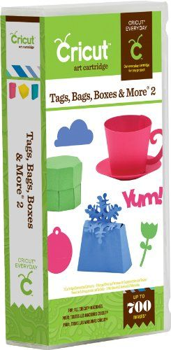 Cricut 18552014 - Cartridge Everyday Tags, Bags, Boxes 2