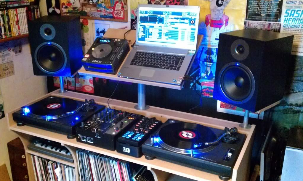 One of the best DJ setups I've seen in a while. music