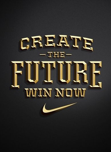 Nike - Create The Future Pitch on the Behance Network — Designspiration