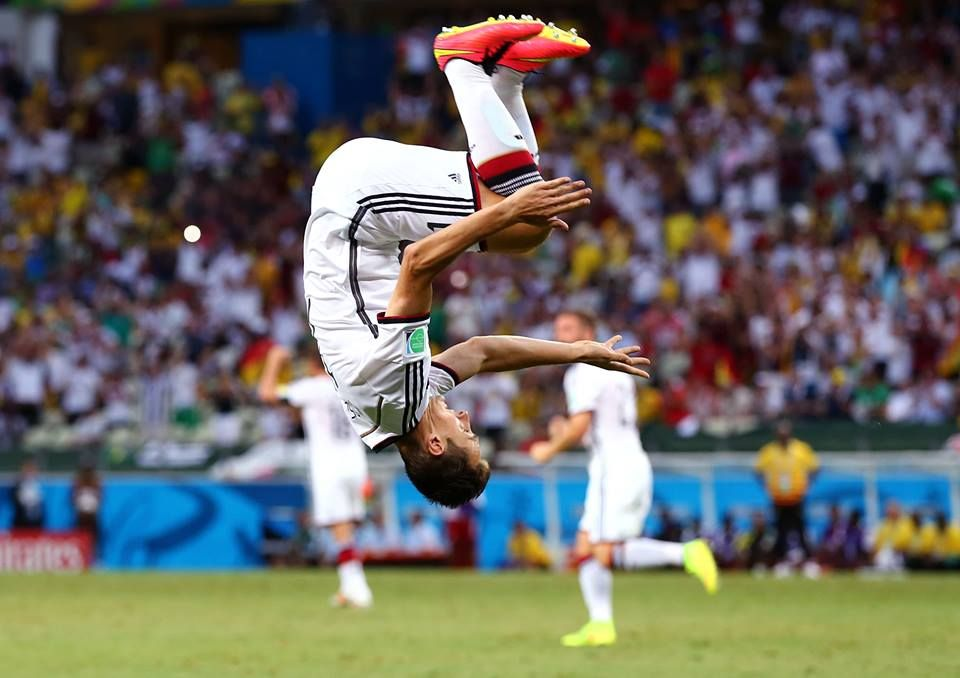 Germany S Miroslav Klose Made History Becoming The Highest Goal Scorer At The World Cup Finals With 16 Goals Jerman Tertawa