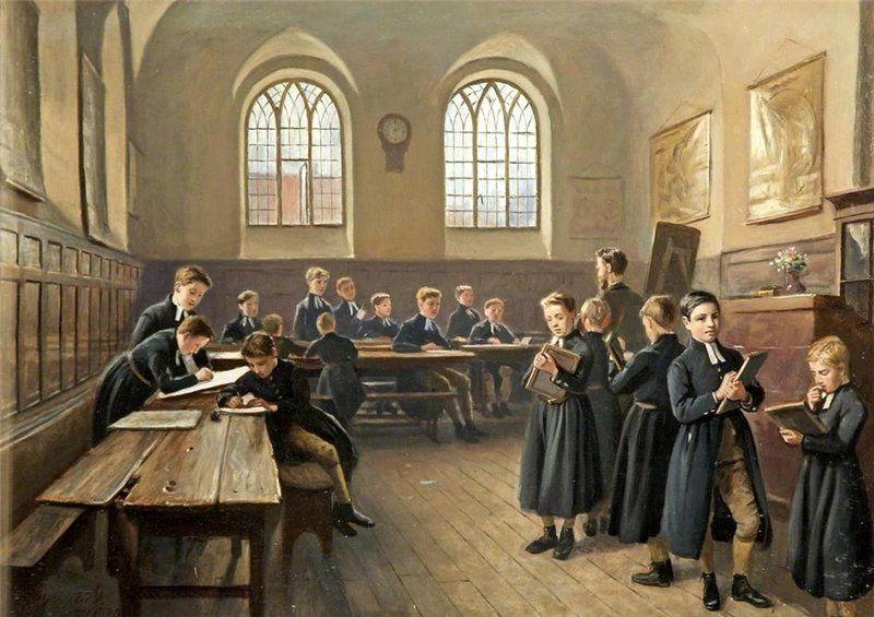 John Kemp The Blue Coat School, Gloucester.   Картины